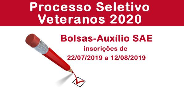 Processo Seletivo de Bolsas-Auxílio/Veteranos 2020